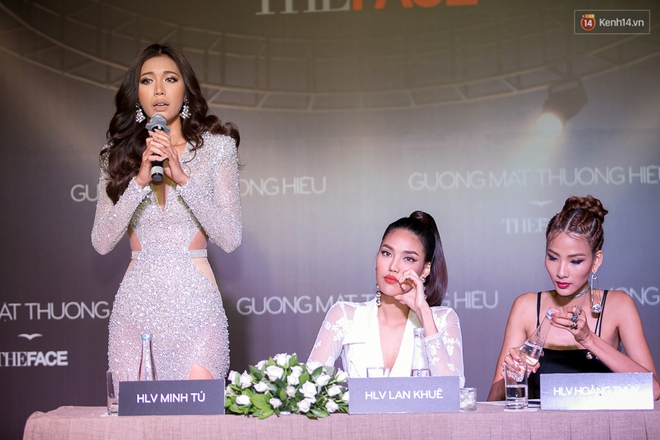 HLV The Face Thái đến đúng giờ, Minh Tú phải nhập viện trước họp báo The Face 2017 - Ảnh 18.