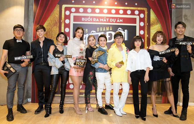 Kiều Minh Tuấn - Cát Phượng là khách mời đặc biệt trong phim lật mặt showbiz Việt - Ảnh 2.