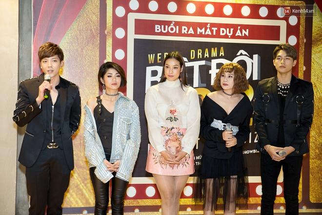 Kiều Minh Tuấn - Cát Phượng là khách mời đặc biệt trong phim lật mặt showbiz Việt - Ảnh 3.