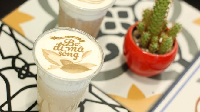 In ảnh lên trà sữa: món mới toanh đầy ảo diệu ở Hà Nội - ảnh 1