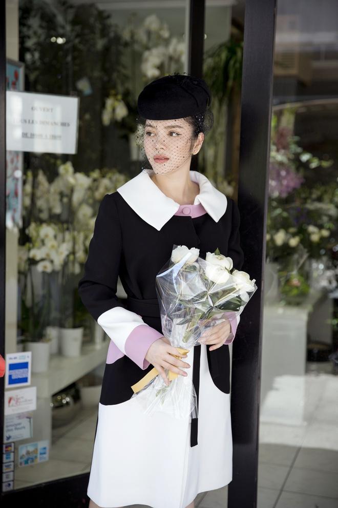 Lý Nhã Kỳ mặc quý phái tới viếng mộ Công nương Grace Kelly tại Monaco - Ảnh 3.