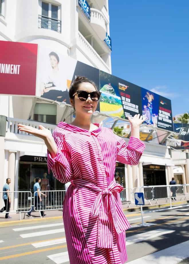 Lý Nhã Kỳ lên tiếng về tấm pano Lý Nhã Kỳ - Tiếng nói mới của Việt Nam đặt tại Cannes gây xôn xao - Ảnh 2.