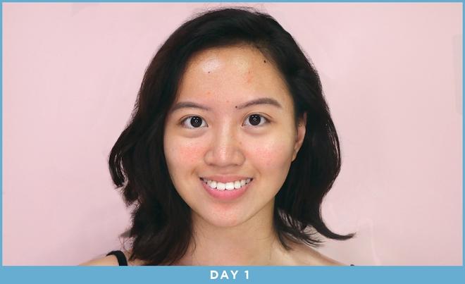 Cô nàng này đã dùng thử mặt nạ công nghệ ánh sáng và đây là kết quả kì diệu - ảnh 8