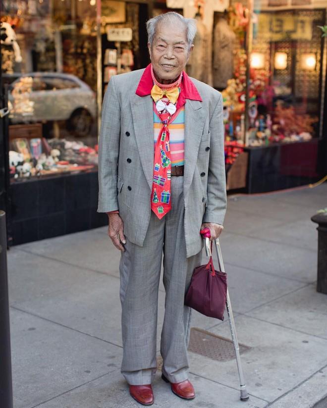 Không đăng hình giới trẻ, tài khoản Instagram này lại tôn vinh street style đi chợ của các cụ già và được hưởng ứng vô cùng - ảnh 12