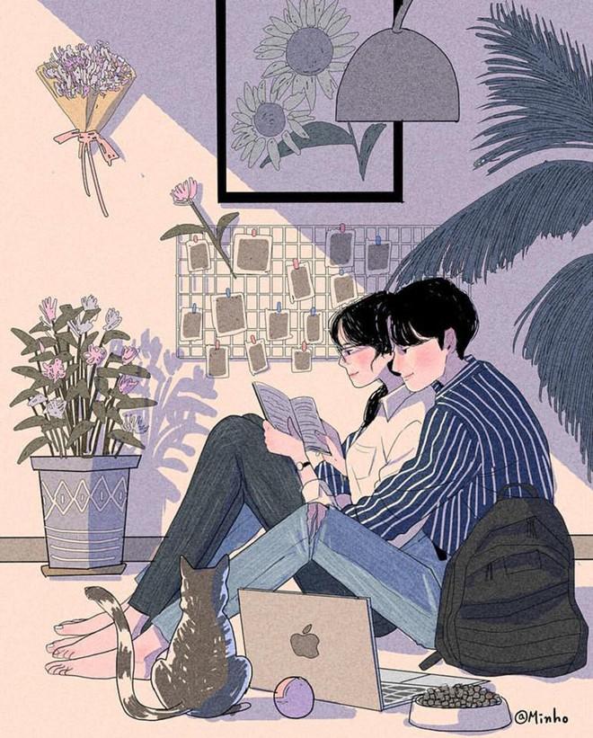 Bộ tranh: Bất cứ cô gái nào cũng mong muốn một tình yêu, dù rằng chỉ giản dị như thế này thôi! - Ảnh 15.