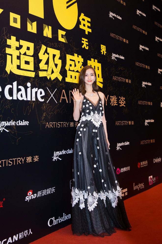 Thảm đỏ Marie Claire: Đường Yên chiếm sóng với chiếc váy đẹp xuất sắc, Lưu Diệc Phi kém sang hơn hẳn Dương Mịch - Angela Baby - Ảnh 14.