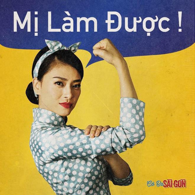 Vừa tung bộ ảnh nữ quyền, Cô Ba Sài Gòn bị chỉ trích là vay mượn văn hóa nửa vời - Ảnh 1.