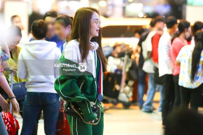 Diện đồ thể thao khoẻ khoắn, Minh Hằng nổi bật giữa sân bay lên đường đi Dubai tham dự tuần lễ thời trang quốc tế - ảnh 2