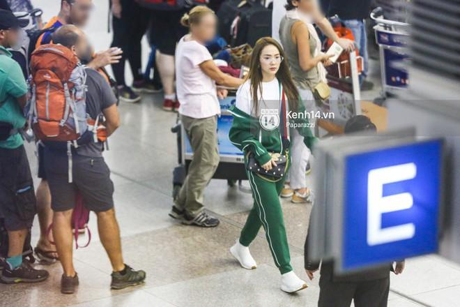 Diện đồ thể thao khoẻ khoắn, Minh Hằng nổi bật giữa sân bay lên đường đi Dubai tham dự tuần lễ thời trang quốc tế - ảnh 13