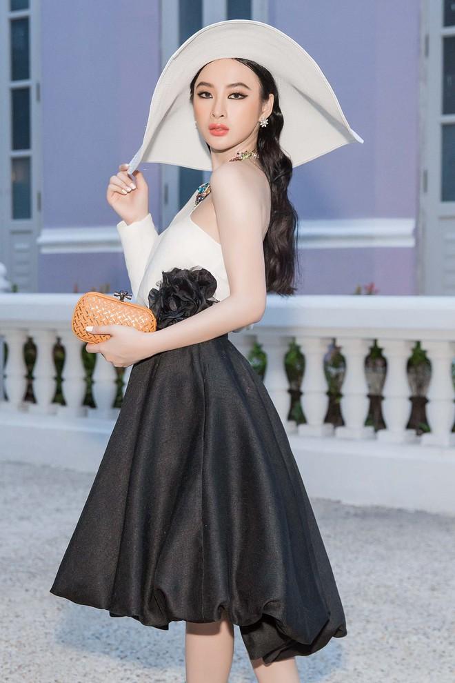 Angela Phương Trinh kiêu kỳ cổ điển, trở thành tâm điểm tại show của NTK Đỗ Mạnh Cường - Ảnh 4.