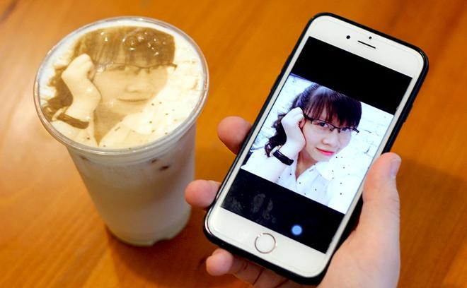 In ảnh lên trà sữa: món mới toanh đầy ảo diệu ở Hà Nội - ảnh 4