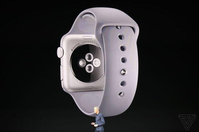 Apple vừa giới thiệu Apple Watch Series 3: thiết kế không đổi, có thể cắm SIM và chứa được hơn 40 triệu bài hát - Ảnh 3.
