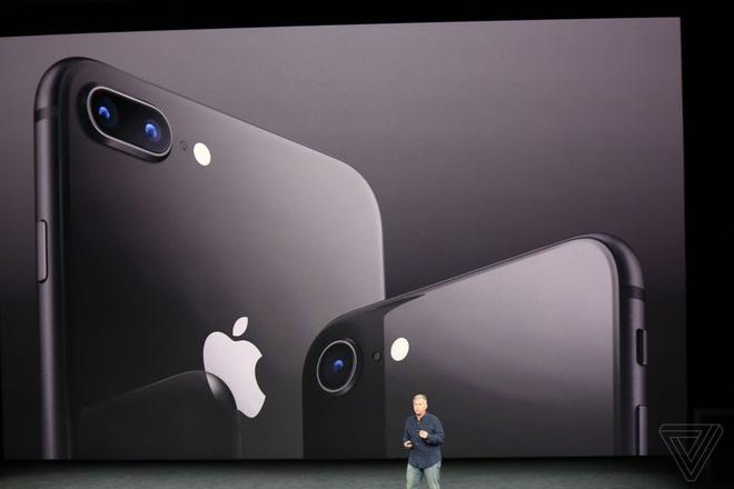 iPhone 8 và 8 Plus chính thức ra mắt: Có phiên bản màu Vàng Thẹn Thùng ai nhìn cũng mê! - Ảnh 1.