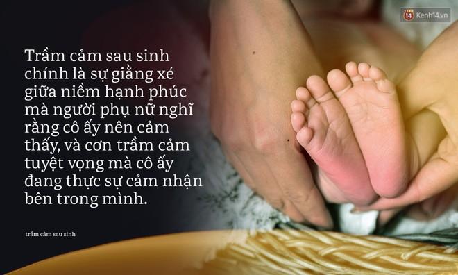 Từ cái chết của em bé 33 ngày tuổi: Chưa bao giờ nỗi đau trầm cảm sau sinh lại khiến người ta bàng hoàng đến thế! - Ảnh 5.