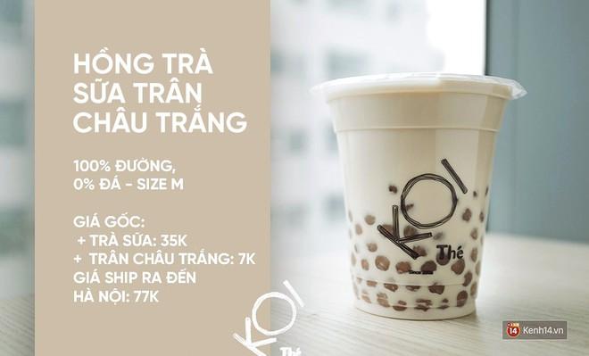 Bây giờ người ta còn nhận ship cả trà sữa từ Nam ra Bắc: Koi hay Phúc Long cũng đều có cả - Ảnh 3.