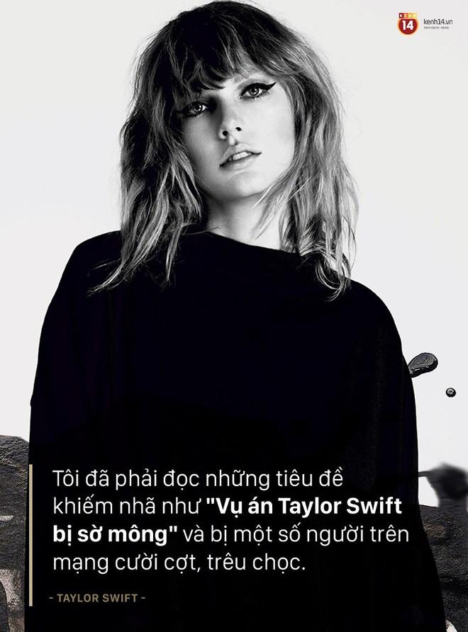 Taylor Swift lần đầu nói về vụ kiện bị quấy rối tình dục: Tôi rất phẫn nộ vì bị kẻ quấy rối đổ hết tội cho mình - ảnh 4