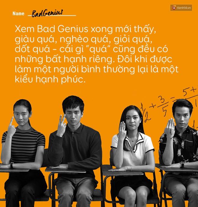 Bad Genius: Câu chuyện về tuổi trẻ, về những sự lựa chọn trong đời và cả những lần đánh mất bản thân mình - ảnh 7