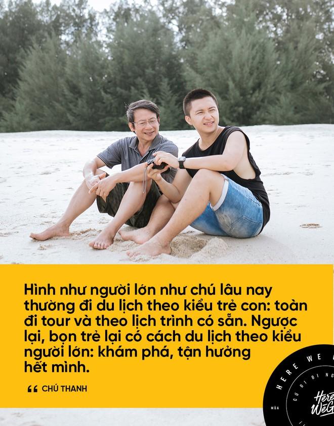 Bạn chọn ai khi muốn đi du lịch, cậu con trai Nghệ An 24 tuổi này rủ ông bố 60 tuổi, và họ có những trải nghiệm cùng nhau lần đầu tiên! - Ảnh 16.