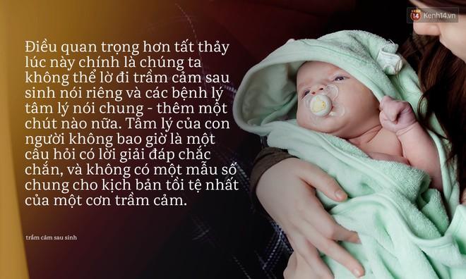Từ cái chết của em bé 33 ngày tuổi: Chưa bao giờ nỗi đau trầm cảm sau sinh lại khiến người ta bàng hoàng đến thế! - Ảnh 7.