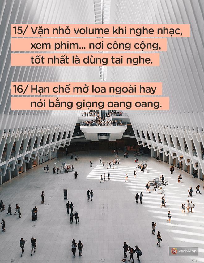 Để được người khác yêu quý và tôn trọng không khó, nếu bạn luôn nhớ 24 quy tắc ứng xử cơ bản này - ảnh 8
