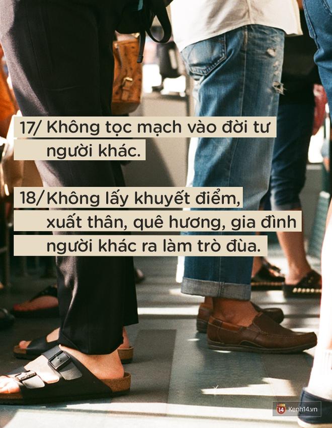 Để được người khác yêu quý và tôn trọng không khó, nếu bạn luôn nhớ 24 quy tắc ứng xử cơ bản này - ảnh 9