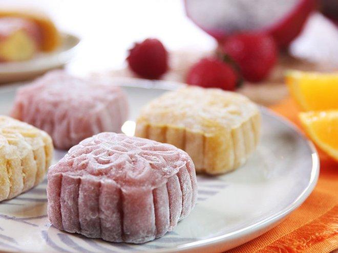 Đón Trung thu sớm với cách làm bánh Trung thu hoa quả chẳng cần lò nướng - Ảnh 10.