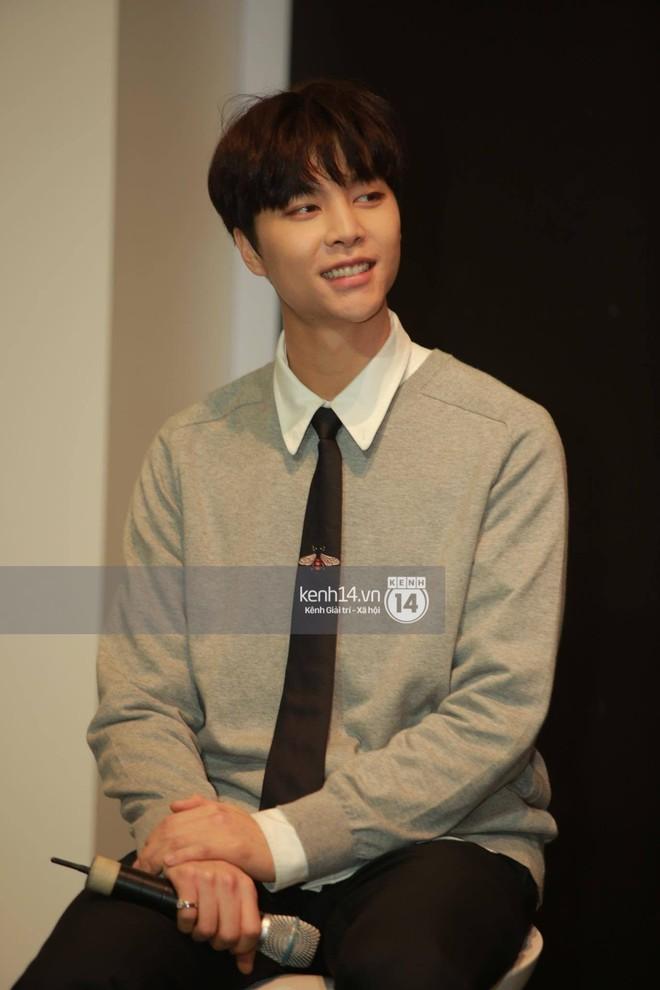 Mỹ nam Taeyong tiết lộ muốn ở lại Việt Nam, NCT 127 đồng loạt tỏ tình Anh yêu em với fan tại họp báo ở Hà Nội - Ảnh 16.