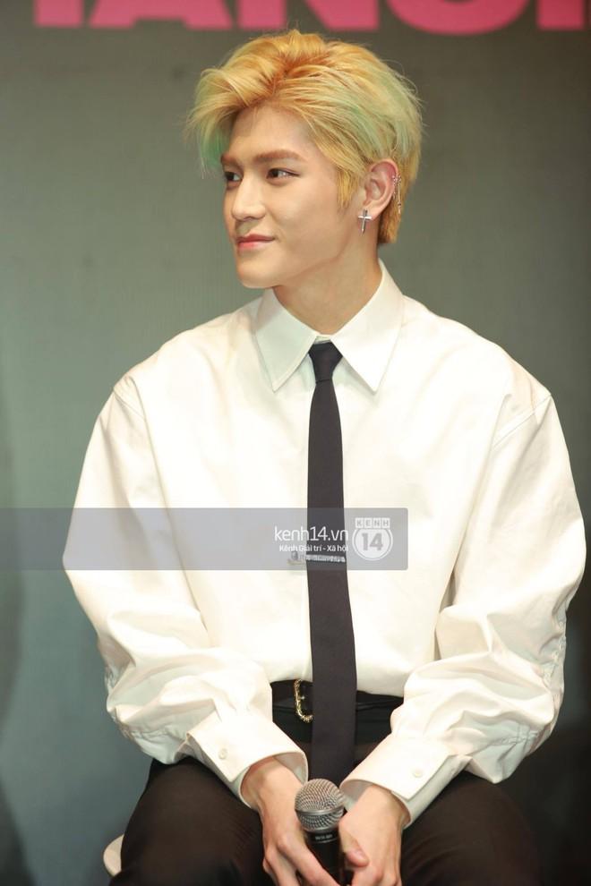 Mỹ nam Taeyong tiết lộ muốn ở lại Việt Nam, NCT 127 đồng loạt tỏ tình Anh yêu em với fan tại họp báo ở Hà Nội - Ảnh 25.