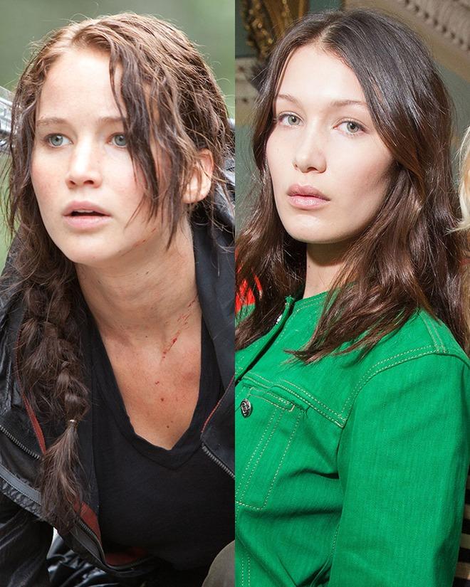 Là em gái Gigi Hadid, nhưng Bella Hadid lại giống hệt Jennifer Lawrence một cách kỳ lạ