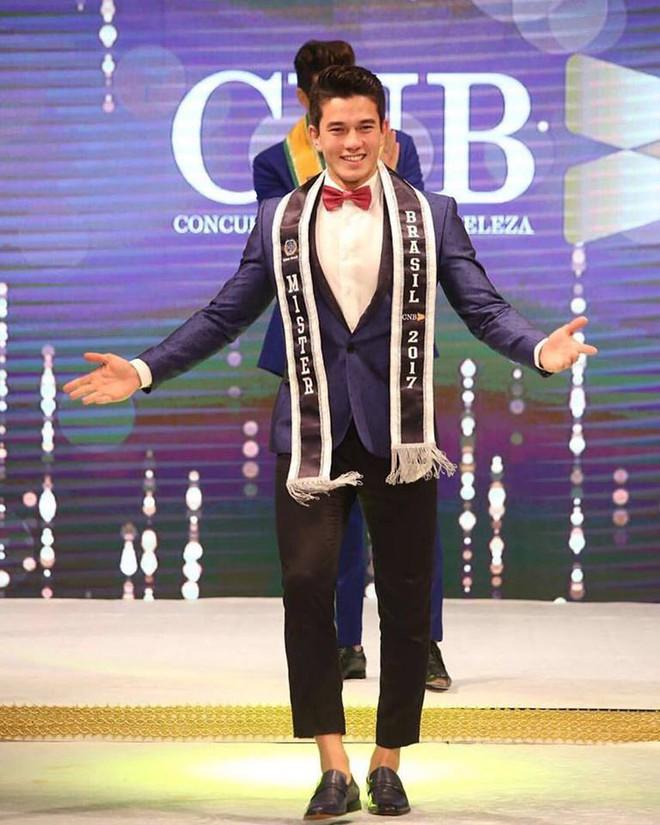 Mister Brazil 2017: Soái ca nhà người ta lai 2 dòng máu, vừa đẹp trai khó cưỡng vừa giỏi đủ lĩnh vực - Ảnh 1.