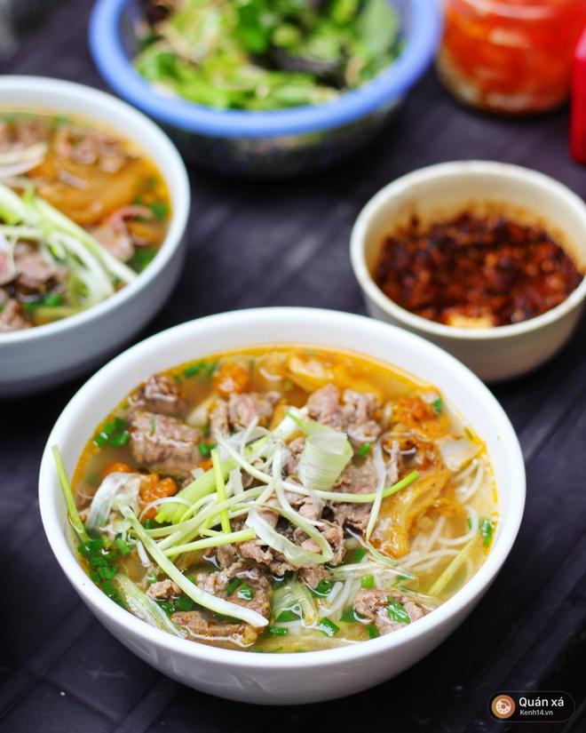 Ở Hà Nội có một món bún rất lạ: đầy ắp thịt bò mà chỉ có 25k - Ảnh 7.