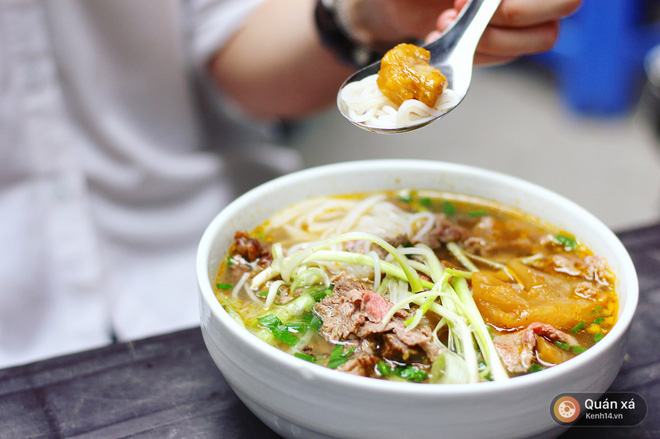 Ở Hà Nội có một món bún rất lạ: đầy ắp thịt bò mà chỉ có 25k - Ảnh 5.