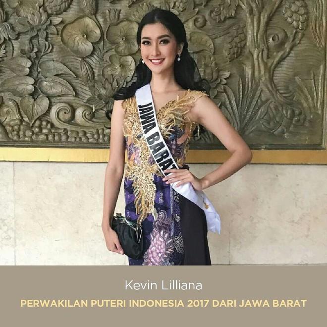 Nhan sắc xinh đẹp của đại diện Indonesia, cô gái đánh bại hơn 70 đối thủ vừa đăng quang Miss International 2017 - Ảnh 6.