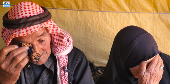 Chuyện cảm động của đôi vợ chồng già Syria: Mất hết tất cả trong chiến tranh, nhưng họ còn tình yêu - Ảnh 2