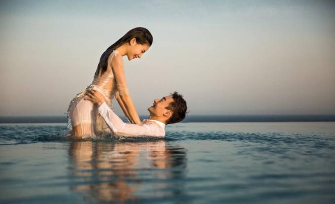 Bộ ảnh cưới tuyệt đẹp của nữ VĐV nhảy cầu xinh đẹp Trung Quốc - Ảnh 6.