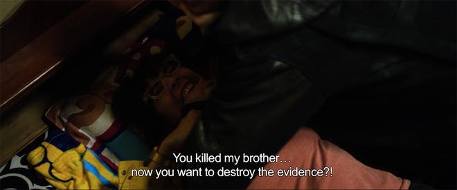 Thu Trang suýt gãy chân khi bị Tiến Luật đè lên giường trong Chí Phèo ngoại truyện - Ảnh 3.