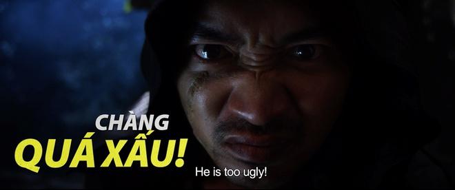 Thu Trang suýt gãy chân khi bị Tiến Luật đè lên giường trong Chí Phèo ngoại truyện - Ảnh 4.