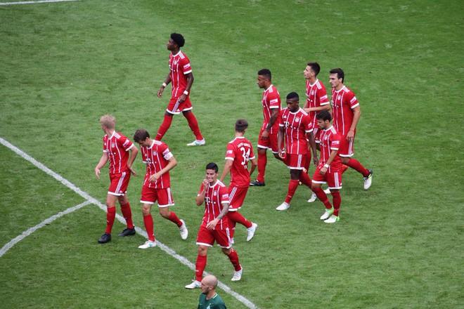 Tân binh James Rodriguez giúp Bayern bảo vệ thành công Telekom Cup - Ảnh 12.