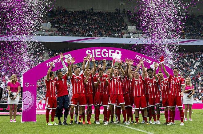 Tân binh James Rodriguez giúp Bayern bảo vệ thành công Telekom Cup - Ảnh 14.