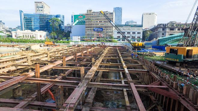 Nhìn từ trên cao công trình chống ngập 10.000 tỷ đang dần thành hình ở Sài Gòn - Ảnh 5.