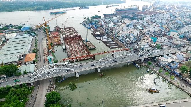 Nhìn từ trên cao công trình chống ngập 10.000 tỷ đang dần thành hình ở Sài Gòn - Ảnh 16.