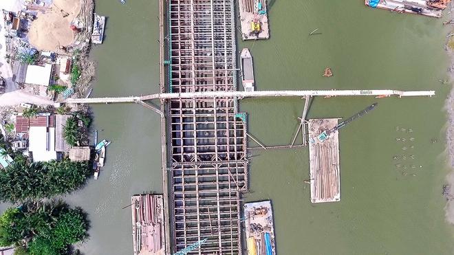 Nhìn từ trên cao công trình chống ngập 10.000 tỷ đang dần thành hình ở Sài Gòn - Ảnh 9.