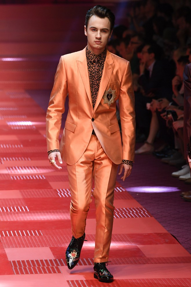 Sàn diễn Dolce&Gabbana thành Đại hội mỹ nam, nổi nhất là Mario Maurer và Vương Tuấn Khải! - Ảnh 6.