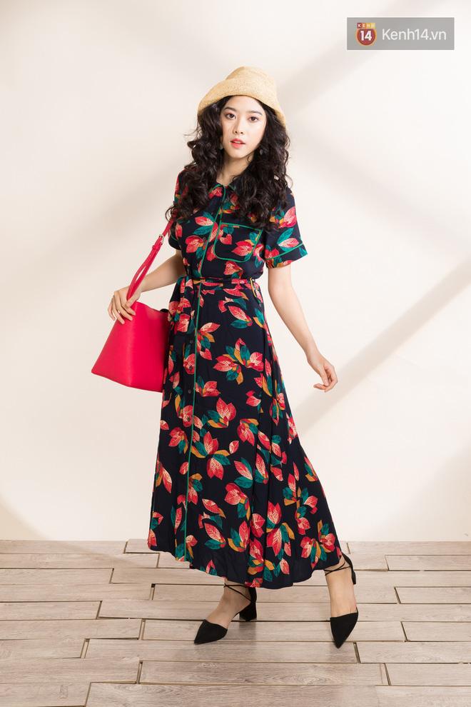 Váy hoa có tới 6 công thức mix cực yêu đảm bảo nàng nào cũng mê tít - Ảnh 4.