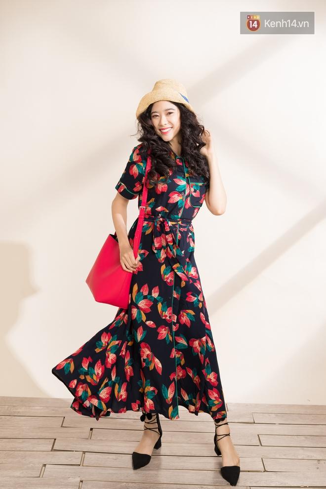 Váy hoa có tới 6 công thức mix cực yêu đảm bảo nàng nào cũng mê tít - Ảnh 5.