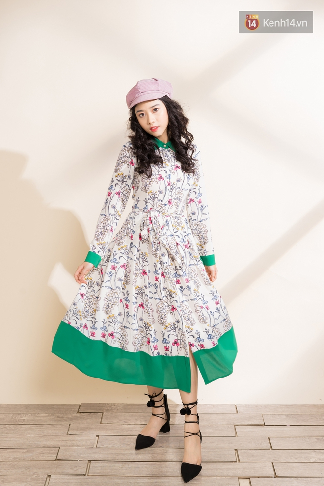 Váy hoa có tới 6 công thức mix cực yêu đảm bảo nàng nào cũng mê tít - Ảnh 8.
