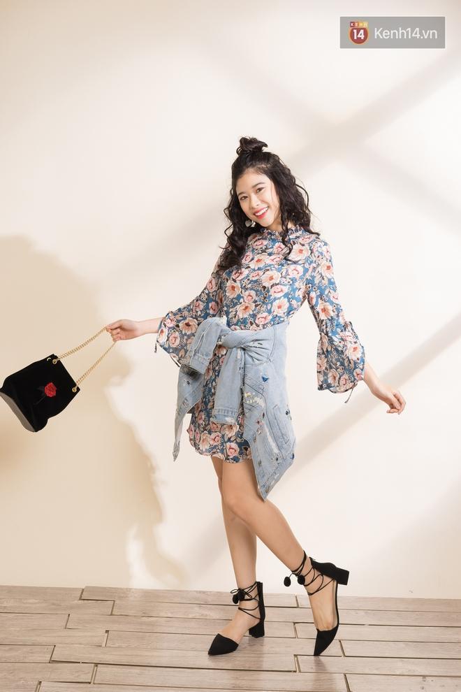 Váy hoa có tới 6 công thức mix cực yêu đảm bảo nàng nào cũng mê tít - Ảnh 17.