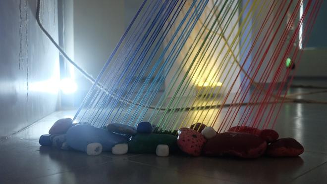 Chiêm ngưỡng không gian triển lãm đương đại đầu tiên của trường Wellspring - Ảnh 10.