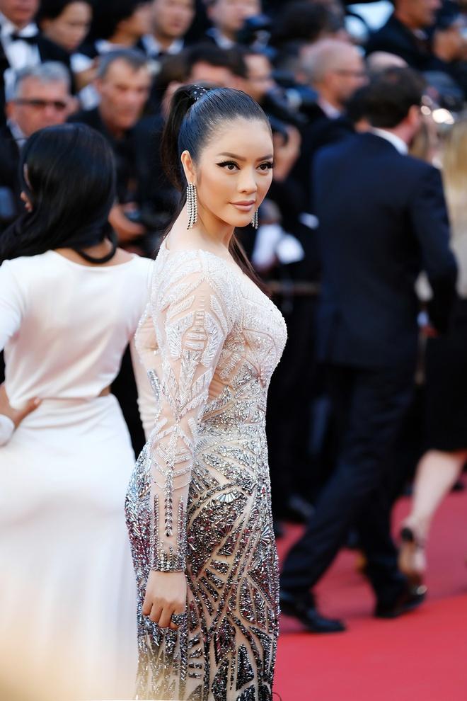 Lý Nhã Kỳ lột xác, hoá Nữ hoàng Cleopatra trên thảm đỏ LHP Cannes ngày 4 - Ảnh 9.