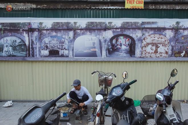 Hà Nội: Dự án bích họa trên phố Phùng Hưng bị đắp chiếu, biến thành bãi gửi xe bất đắc dĩ sau 1 tháng triển khai - ảnh 9